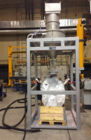 BIG-BAG-Abfüllanlagen von Fitzer-Industriesauger, BIG-Bag, BIG-BAGs, Abfüllen