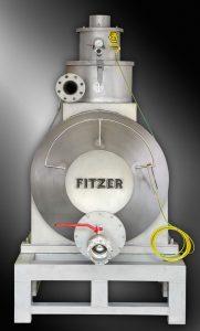 Druckluftsauger FDSW 700 EX komplett aus V2A mit Staplerlaschen