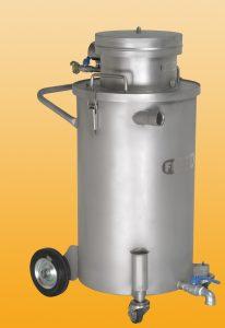 Druckluftsauger XG 25 komplett aus V2A mit Pumpe