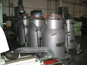 Druckluftsauger XG 350 komplett aus V2A mit Pumpe