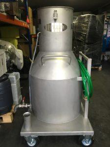 Pumpsauger XG 350 komplett aus V2A mit Pumpe