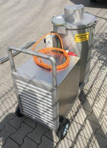 Industriesauger XL 070 H BU EX (Zone 22) komplett aus V2A