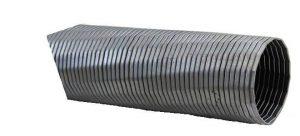 Saugschläuche aus Metall (kunststoffummantelt)