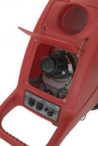 Professionelle handgeführte Nachläufer-Scheuersaugmaschine Compact 400 Halbautomatisches Getriebe, 220V