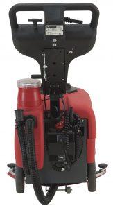 Professionelle handgeführte Scheuersaugmaschine Halb-automatisches Getriebe, Gelbatterien und Ladegerät Modell Biglia 430