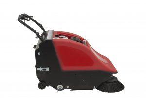 Nachläufer-Handkehrmaschine Sweeper 701 ST, Benzinbetrieb, mechanischer Antrieb, mit Filterabreinigung