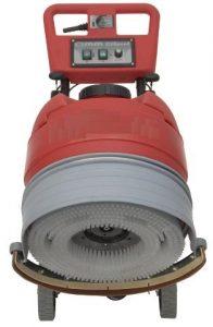 Professionelle handgeführte Scheuersaugmaschine Minispeed 350B, halb-automatisches Getriebe, Gelbatterien und Ladegerät.