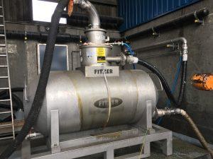 Druckluftsauger FDSW 1000 EX komplett aus V2A mit Staplerlaschen